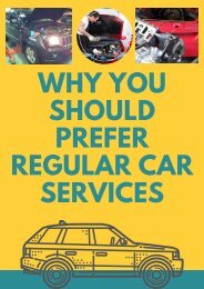 Why You Should Prefer Regular Car Services