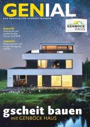 GENBÖCK HAUS Magazin 2019