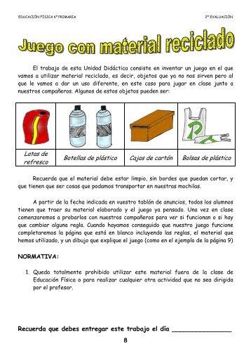 Latas de refresco Botellas de plástico Cajas de cartón Bolsas de ...
