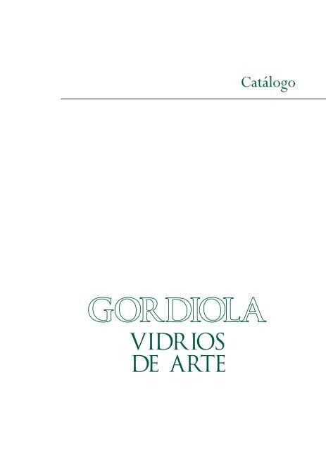 Copas y Vasos - Gordiola