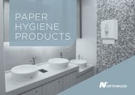 Paper Hygiene Products Brochure