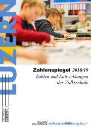 Zahlenspiegel 2018/19