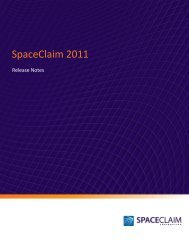 SpaceClaim 2011 Release Notes