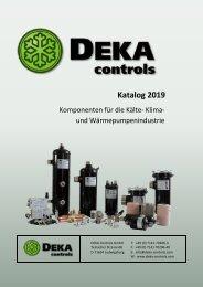 DEKA-Controls Katalog 2019