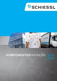 Schiessl Komponentenkatalog 2018-2019