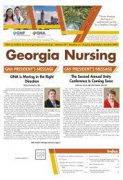 Georgia Nursing - August 2019