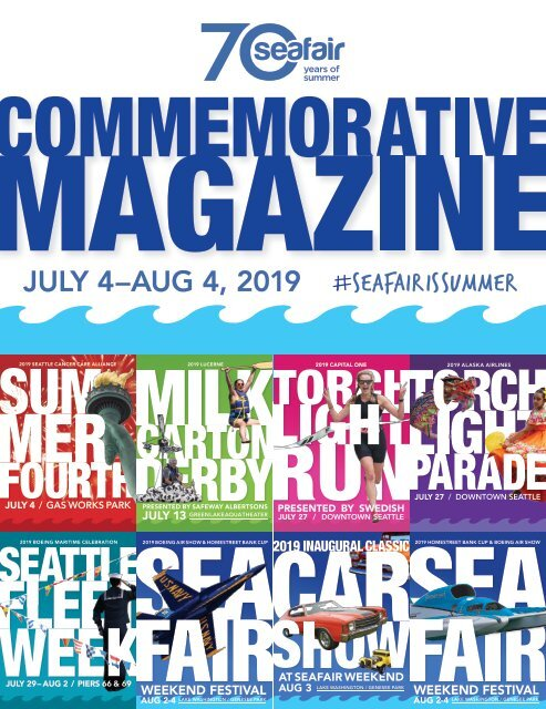 2019 Seafair Commemorative Magazine