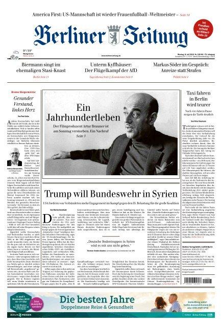 Berliner Zeitung 08.07.2019