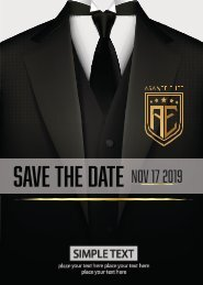 save the date 2019 2 page