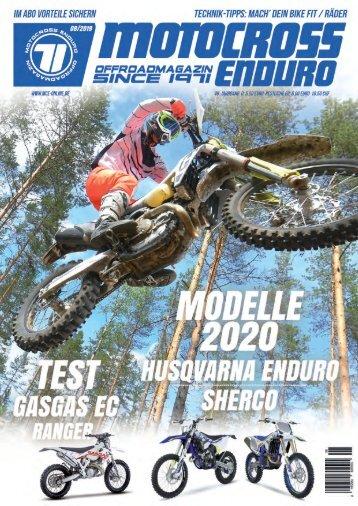 Motocross Enduro Ausgabe 08/2019