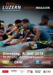 Spitzen Leichtathletik Luzern Meetingmagazin 2019