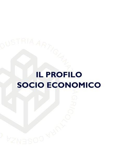 Bilancio di Mandato 2014|2019: Il Profilo socio economico