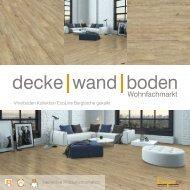 dwb Produktinformation VinylBoden Kollektion EcoLine Berglärche gekalkt