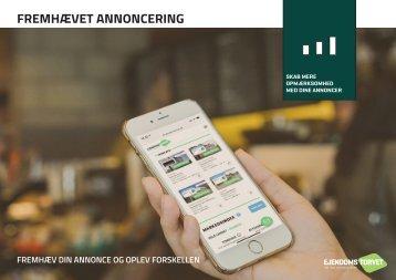 Fremhævet annoncering på Ejendomstorvet.dk - kunde