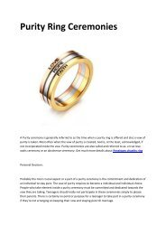5 Penelopes purity ring for girls