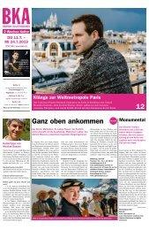 Berner Kulturagenda N°27/28