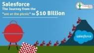 "Salesforce – The Journey from ""the ant at the picnic"" to $10 Billion"