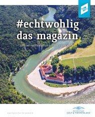 #echtwohlig - Das Magazin für das Bayerische Golf- und Thermenland 2019