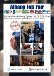 Albany Job Fair | Bring Your Resume