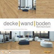 dwb Produktinformation VinylBoden Kollektion EcoLine Eiche astig