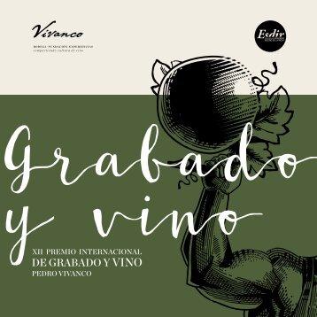 Catálogo XII del Premio Internacional de Grabado y Vino Pedro Vivanco. 2018