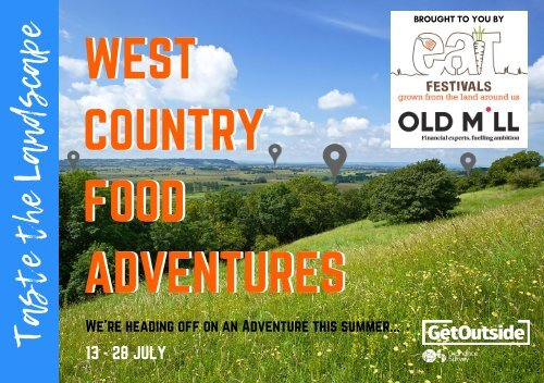 West Country Food Adventures 2019