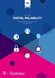 White Paper Digital  Reliability - Why digital reliability is crucial to the success of your digital business
