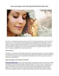 Krasa Anti Aging Cream