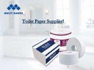 Wholesale Toilet Paper - Multi Range