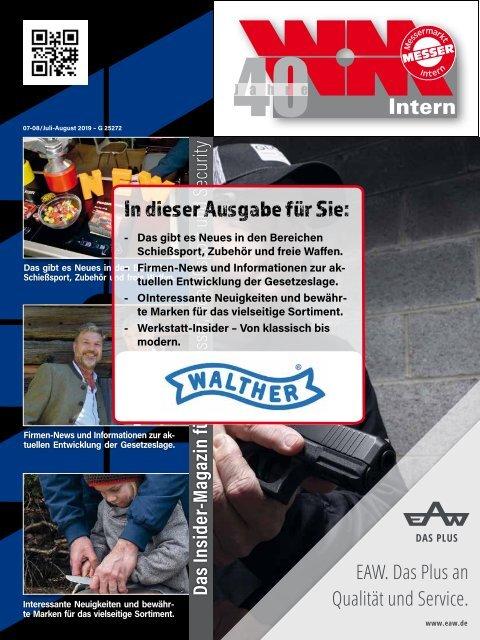 Waffenmarkt-Intern 07-08/2019