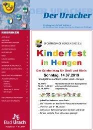 Der Uracher KW 27-2019