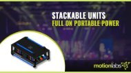 Stackables and Trade Show Distros - Full on Portable Power