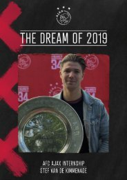 Stageportfolio AFC Ajax