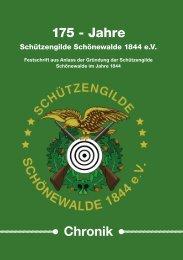 Schützengilde Schönewalde Chronik