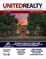 United Realty Magazine July 2019