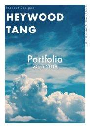 Heywood Tang Portfolio 2015-2018