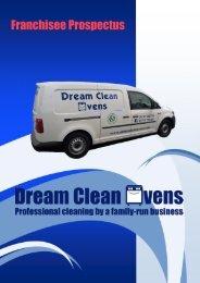 Dream Clean Ovens Franchise Prospectus