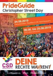 CSD PrideGuide 2019