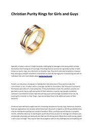 5 Penelopes christian purity ring