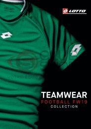 Catalogue Lotto Teamwear 2019 chez votre équipementier sportif CLUB-SHOP.FR