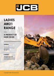 Cleversocks JCB Ladies Range