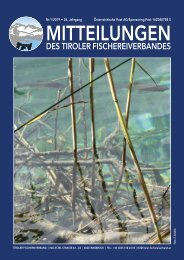 Tiroler Fischereiverband - Mitteilungen 01/2019