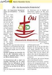 Gemeindebriefseiten MNK August-September 2019
