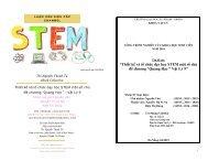 """Thiết kế và tổ chức dạy học STEM một số chủ đề chương """"Quang Học"""" - Vật Lý 9"""