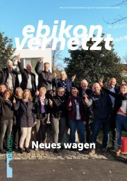 ebikon vernetzt / 07/2019 / Neues wagen