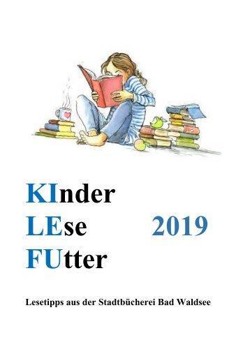 KinderLeseFutter 2019