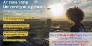 Study in USA – Top Ranking – Arizona State University