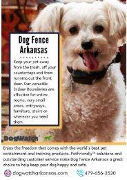 Pet Friendly- Dog Fence Arkansas