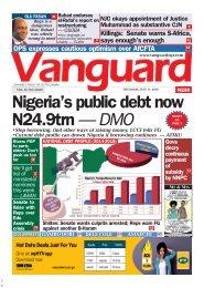 11072019 - Nigeria's public debt now N24.9trn — DMO