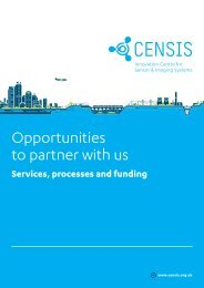 CENSIS Partnering with us